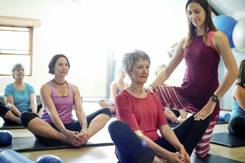 How yoga classes can help arthritis